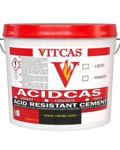 Acidcas Zement /Mörtel (25kg+Flüssigkeit) - VITCAS
