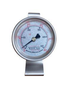 Freistehendes Ofenthermometer 0°C – 500°C - VITCAS