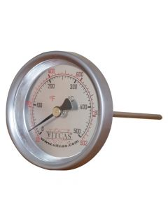 Sonde-Ofenthermometer 0°C – 500°C - VITCAS