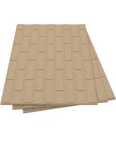 Feuerfeste Vermiculite Isolierplatten mit Ziegelstruktur - VITCAS